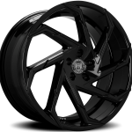 Cyclone Gloss Black 20"