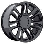 Platinum Escalade Gloss Black 22""