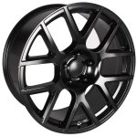 Scat Pack Satin Black 20""