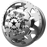 American Force Deploy Polished Dually Wheel