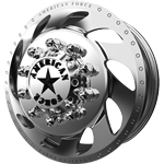 American Force Flow Polished Dually Wheel