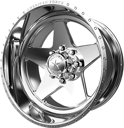 American Force Law Polished Concave Wheel