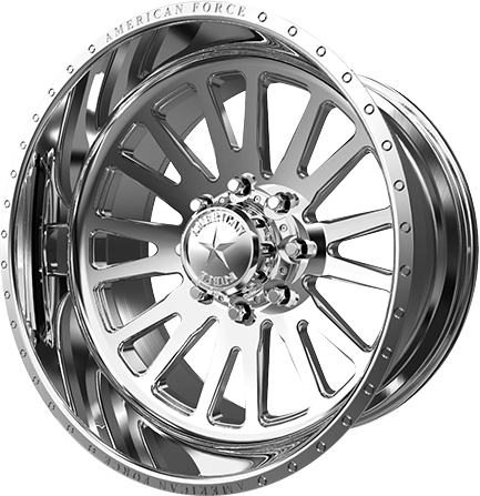 American Force Quantum Polished Concave Wheel