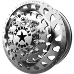 American Force Rampage Polished Dually Wheel