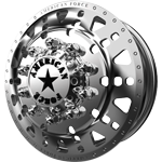 American Force Ricochet Polished Dually Wheel