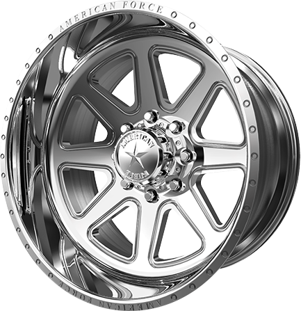 American Force Ridge Polished Concave Wheel