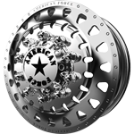American Force Riot Polished Dually Wheel