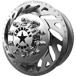 American Force Trek Polished Dually Wheel