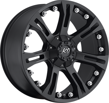 Black DV8 840 REV OFFROAD WHEEL