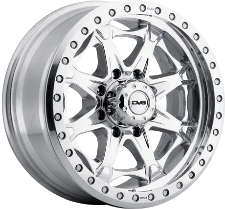Polished DV8 882 Beadlock Wheel