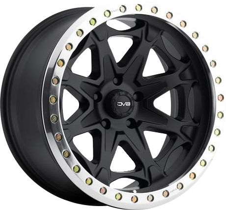 Black DV8 882 Beadlock Wheel
