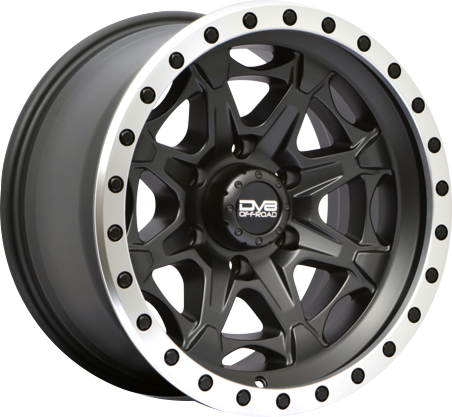 Black DV8 886 Wheel