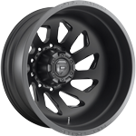 Fuel FF39D 10 Lug Rear Matte Black