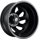 Fuel FF39D 8 Lug Matte Black