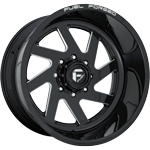 Fuel FF65 Gloss Black & Milled