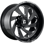 Fuel FF72 Concave Gloss Black & Milled