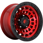 Fuel Zephyr Candy Red w/ Matte Black Ring