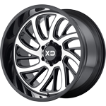 XD Surge Gloss Black w/ Machined Face